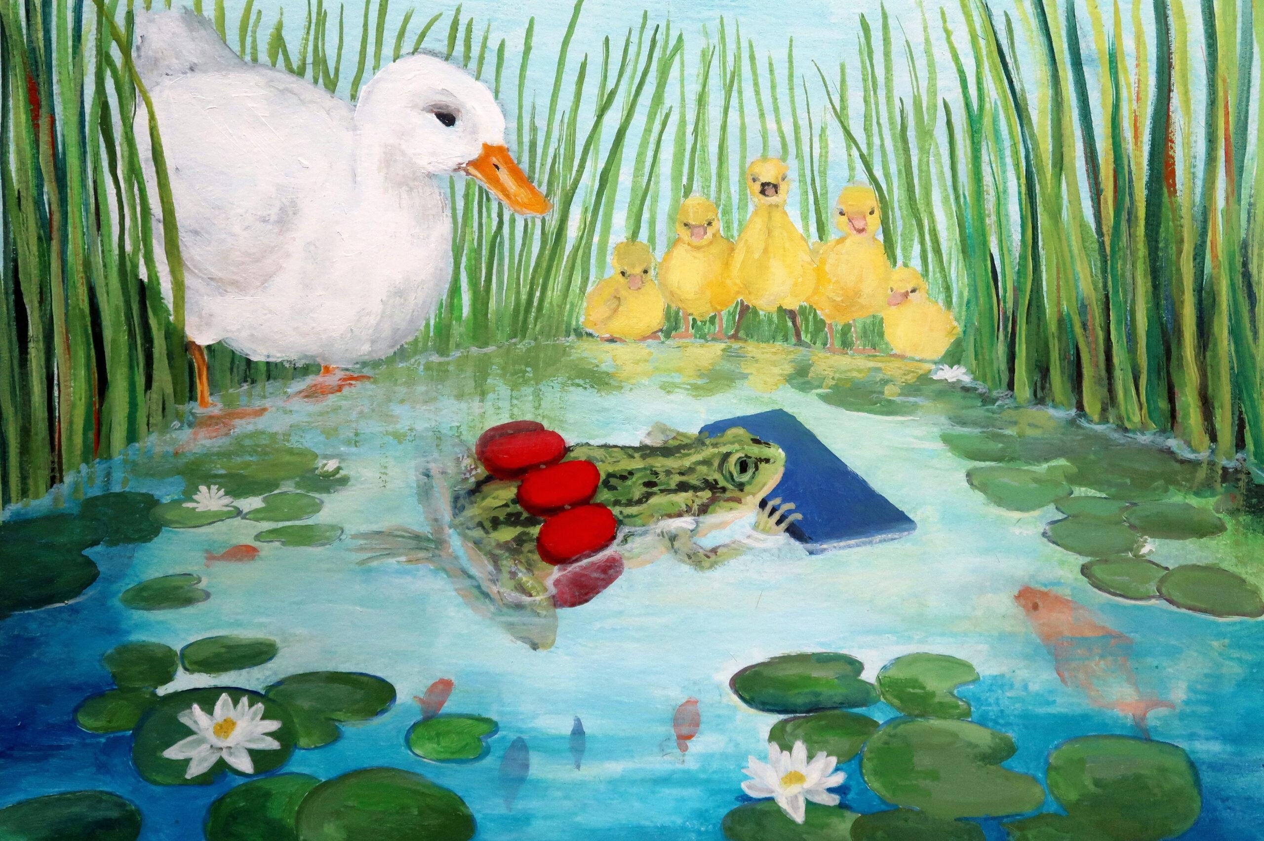 Kikker Kalle leert zwemmen - Stichting Gorsselse Zwembaden Almen